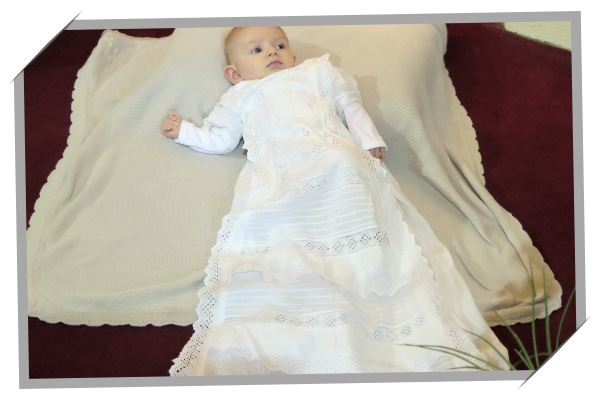 handmade christening gown from wedding dress ireland