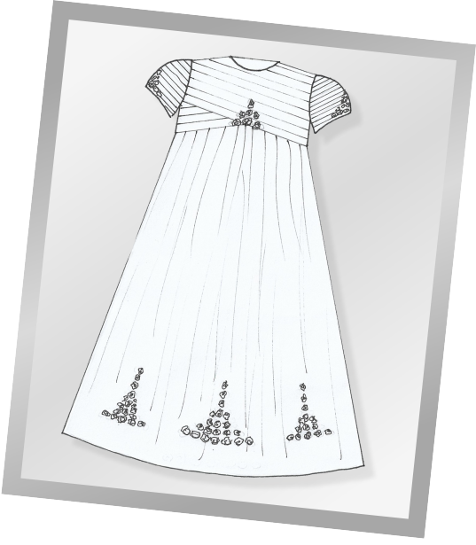 Custom designed handmade Christening gowns produced from your wedding dress