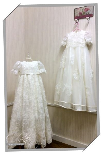 example of christening gown handmade in ireland