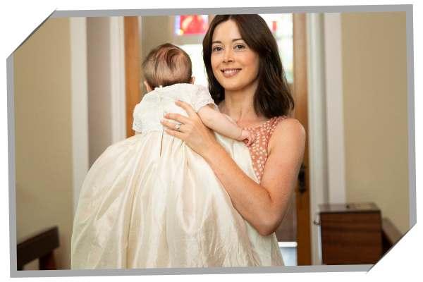 handmade christening gown from wedding dress ireland